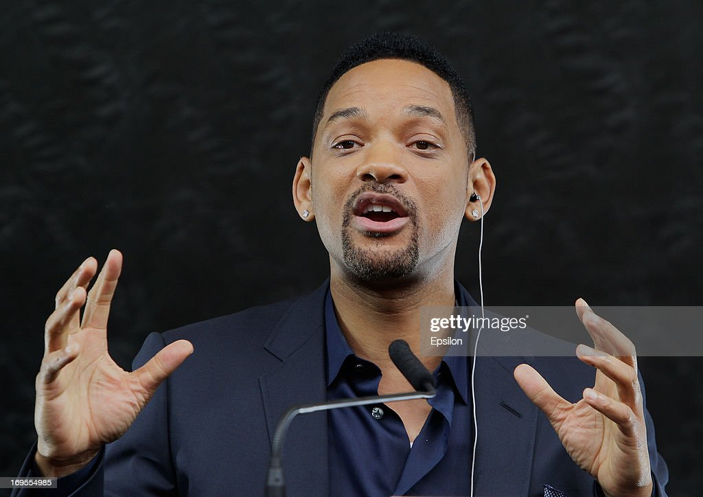 Actor Will Smith during the After Earth - Photocall in Gorky park on May 27, 2013 in Moscow, Russia.