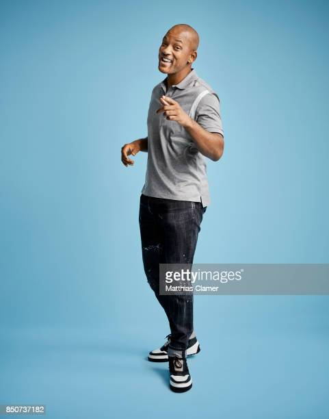 Actor Will Smith from Bright is photographed for Entertainment Weekly Magazine on July 20 2017 at Comic Con in San Diego California PUBLISHED IMAGE