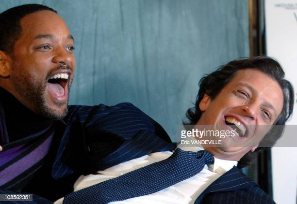 S actor Will Smith in Rome to present his last film 'The pursuit of Happiness' by Italian director Gabriele Muccino and based on the truth story of...