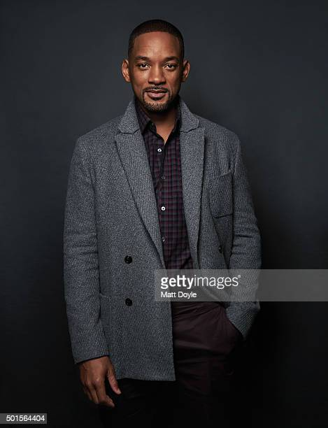 Actor Will Smith is photographed for Back Stage on November 12 in New York City PUBLISHED COVER