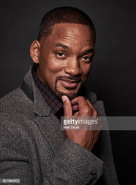 Actor Will Smith is photographed for Back Stage on November 12 in New York City