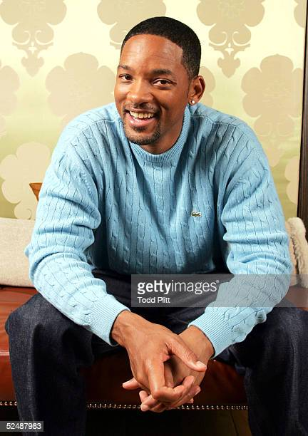 Actor Will Smith poses for a portrait during a press event promoting his movie Hitch on February 4 2005 in New York City