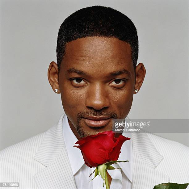 Actor Will Smith poses for a portrait shoot for the Premiere magazine in Paris on February 7 2005