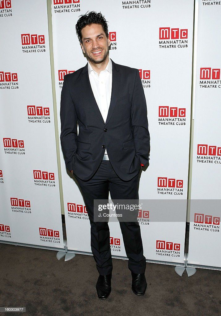 Actor Will Swenson attends the 2012 Manhattan Theatre Club Benefit: An Intimate Night at Jazz at Lincoln Center on January 28, 2013 in New York City.