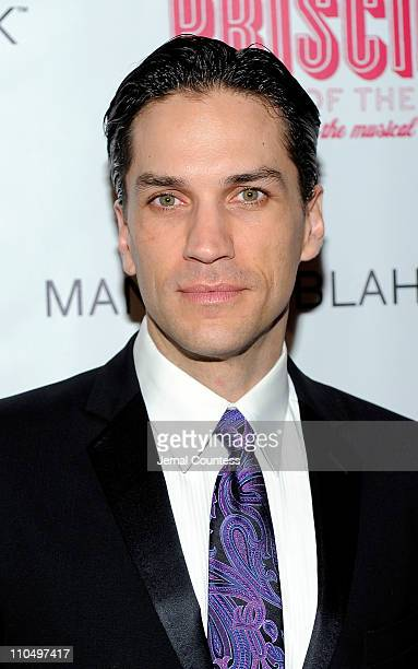 Actor Will Swenson attends the after party for the Broadway opening night of Priscilla Queen of the Desert The Musical at Pier 60 on March 20 2011 in...