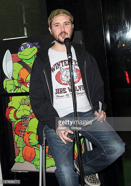 Actor Will Wheaton at the Chris Hardwick Book Release Party for The Nerdist Way with a reading QA and signing held at Meltdown Comics and...