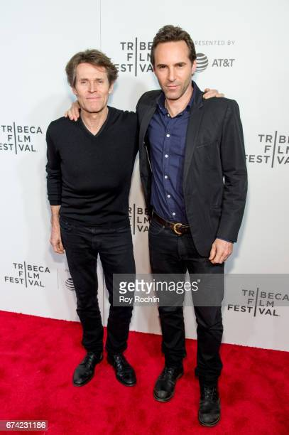 Actor Willem Dafoe and Best Actor Winner Alessandro Nivola attend the Tribeca Awards Night Êduring the 2017 Tribeca Film Festival at BMCC Tribeca PAC...