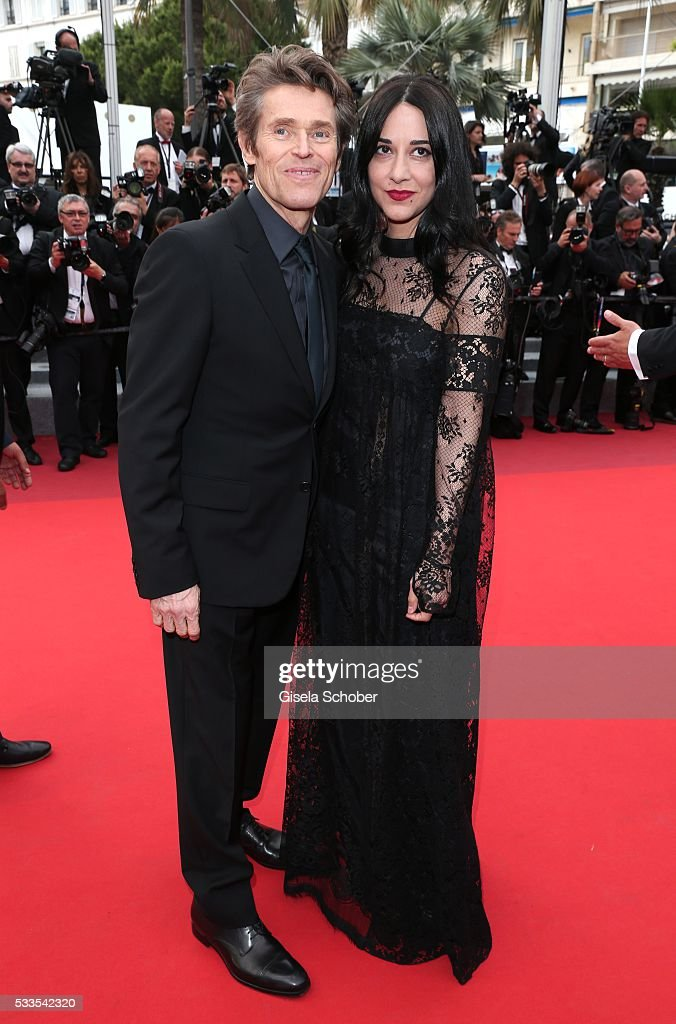 Actor Willem Dafoe and Giada Colagrande attend the closing ceremony of the 69th annual Cannes Film Festival at the Palais des Festivals on May 22, 2016 in Cannes, France.