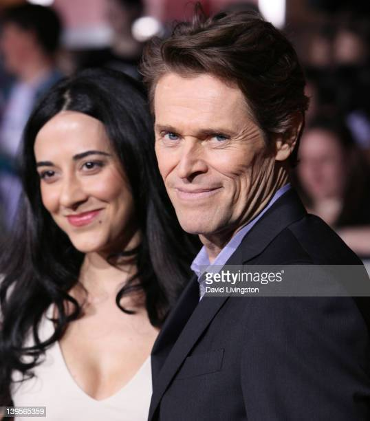 """Actor Willem Dafoe and wife director Giada Colagrande attend the premiere of Walt Disney Pictures' """"John Carter"""" at Regal Cinemas L.A. Live on..."""