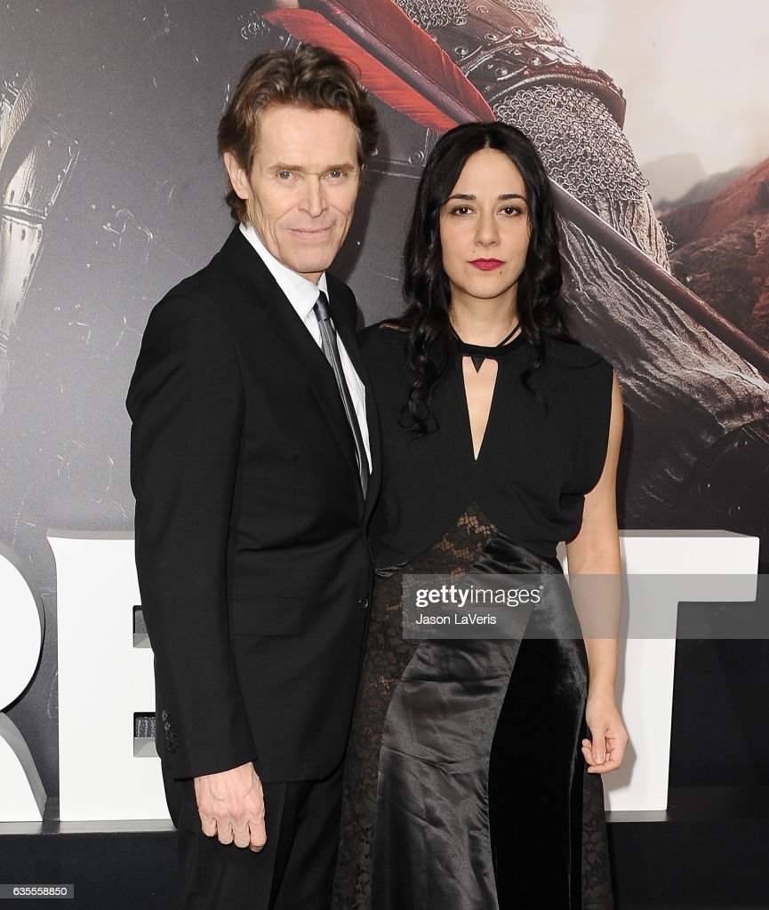 Willem Dafoe And Wife Out In London - Zimbio  Willem Dafoe And Wife