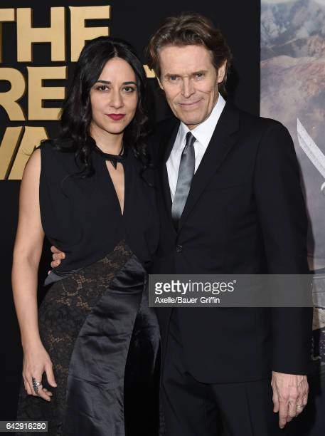 Actor Willem Dafoe and wife/director Giada Colagrande arrive at the premiere of Universal Pictures' 'The Great Wall' at TCL Chinese Theatre IMAX on...