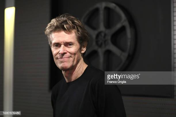 Actor Willem Dafoe attends Padre premiere at Nuovo Cinema Aquila on September 12 2018 in Rome Italy