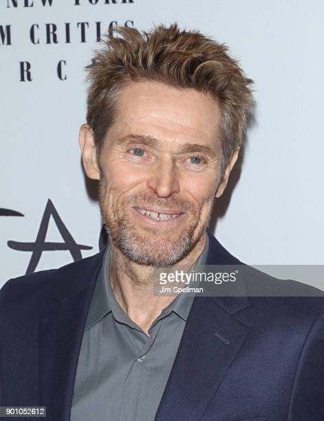 Actor Willem Dafoe attends the 2017 New York Film Critics Awards at TAO Downtown on January 3 2018 in New York City