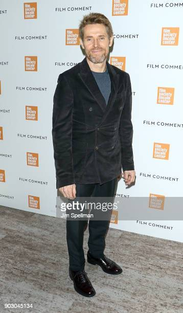 Actor Willem Dafoe attends the 2018 Film Society of Lincoln Center and Film Comment luncheon at Lincoln Ristorante on January 9 2018 in New York City
