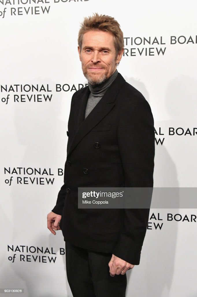 Actor Willem Dafoe attends the 2018 The National Board Of Review Annual Awards Gala at Cipriani 42nd Street on January 9, 2018 in New York City.