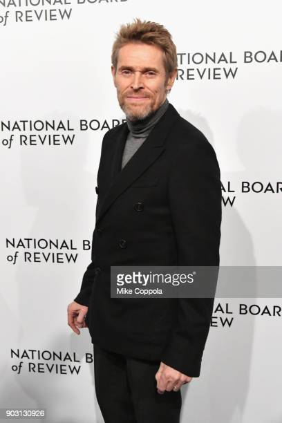 Actor Willem Dafoe attends the 2018 The National Board Of Review Annual Awards Gala at Cipriani 42nd Street on January 9 2018 in New York City