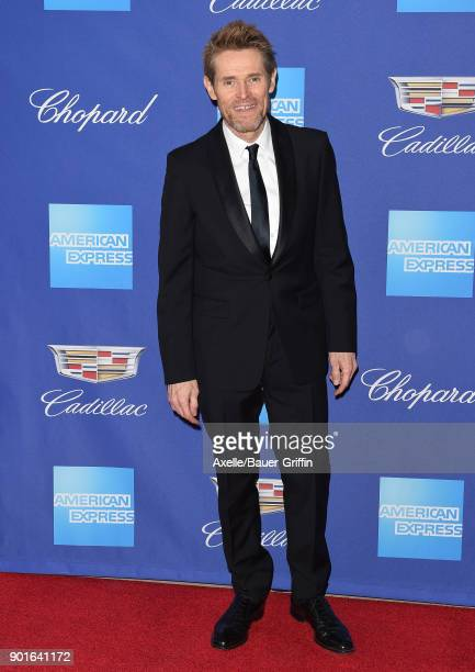 Actor Willem Dafoe attends the 29th Annual Palm Springs International Film Festival Awards Gala at Palm Springs Convention Center on January 2 2018...