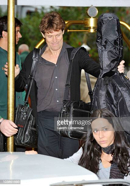 Actor Willem Dafoe attends the 67th Venice Film Festival on September 6 2010 in Venice Italy