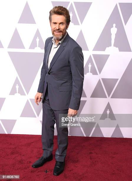 Actor Willem Dafoe attends the 90th Annual Academy Awards Nominee Luncheon at The Beverly Hilton Hotel on February 5 2018 in Beverly Hills California