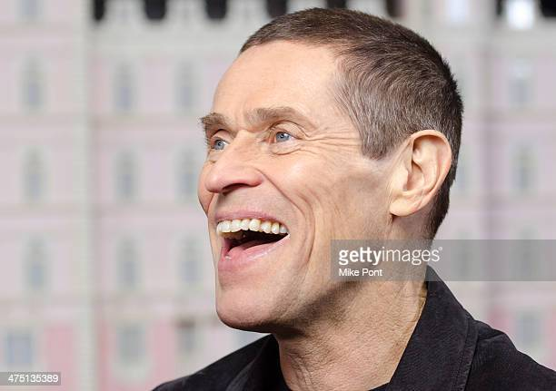 Actor Willem Dafoe attends 'The Grand Budapest Hotel' premiere at Alice Tully Hall on February 26 2014 in New York City