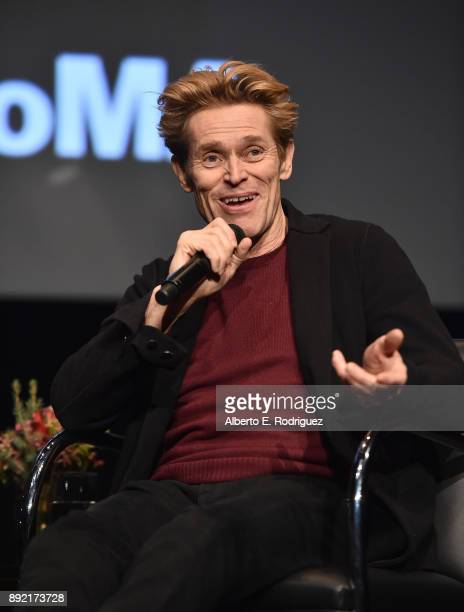Actor Willem Dafoe attends the Hammer Museum Presents The Contenders 2017 The Florida Project at The Hammer Museum on December 13 2017 in Los Angeles...