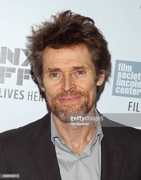Actor Willem Dafoe attends the 'Heaven Knows What' Premiere during the 52nd New York Film Festival at Alice Tully Hall on October 2 2014 in New York...