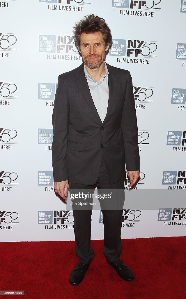 Actor Willem Dafoe attends the 'Heaven Knows What' Premiere during the 52nd New York Film Festival at Alice Tully Hall on October 2, 2014 in New York City.