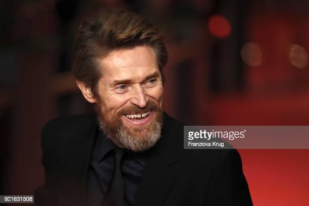 Actor Willem Dafoe attends the Homage Willem Dafoe Honorary Golden Bear award ceremony and 'The Hunter' screening during the 68th Berlinale...