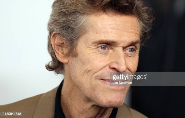 Actor Willem Dafoe attends the Motherless Brooklyn premiere during the 57th New York Film Festival on October 11 2019 in New York City