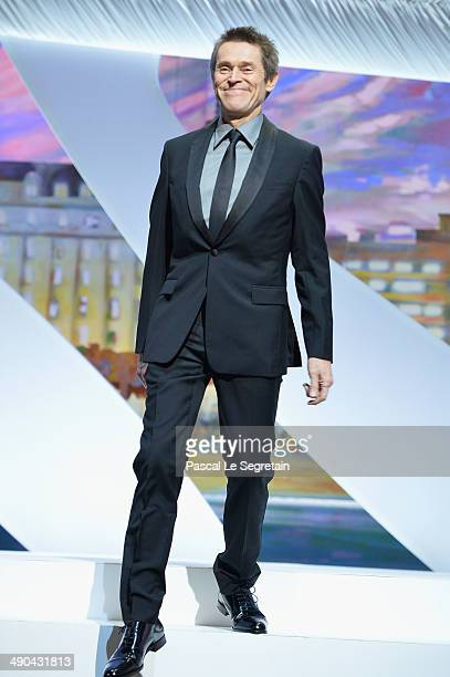 Actor Willem Dafoe attends the Opening ceremony during the 67th Annual Cannes Film Festival on May 14 2014 in Cannes France