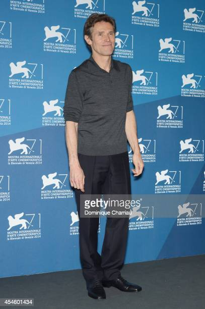Actor Willem Dafoe attends the 'Pasolini' photocall during the 71st Venice Film Festival at Palazzo del Cinema on September 4 2014 in Venice Italy
