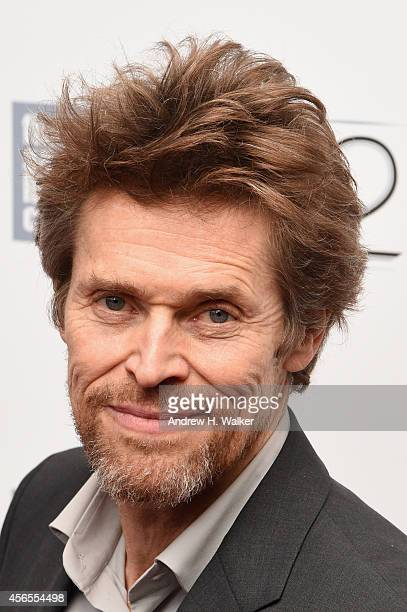 Actor Willem Dafoe attends the 'Pasolini' premiere during the 52nd New York Film Festival at Alice Tully Hall on October 2 2014 in New York City