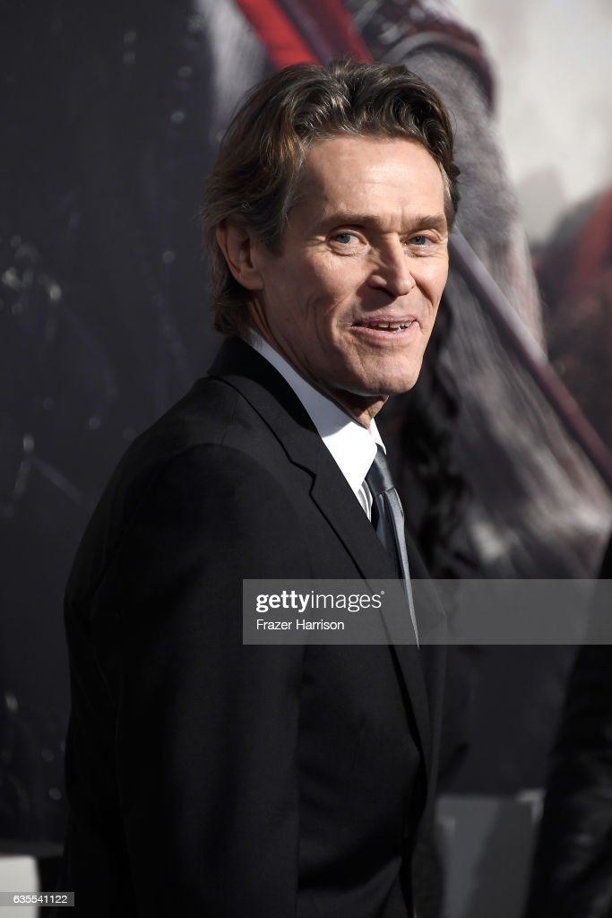Actor Willem Dafoe attends the premiere of Universal Pictures' 'The Great Wall' at TCL Chinese Theatre IMAX on February 15, 2017 in Hollywood, California.