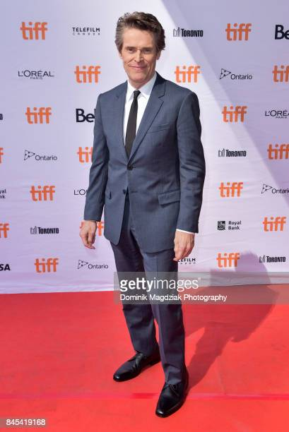 Actor Willem Dafoe attends the The Florida Project premiere at the Ryerson Theatre on September 10 2017 in Toronto Canada