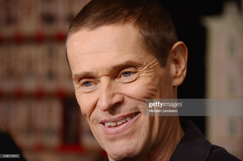 Actor Willem Dafoe attends the 'The Grand Budapest Hotel' New York Premiere at Alice Tully Hall on February 26, 2014 in New York City.