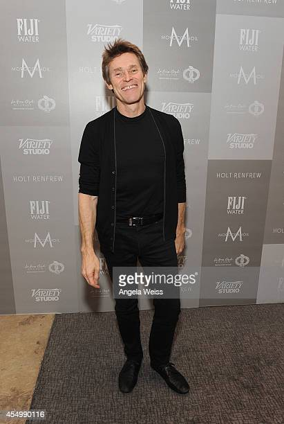 Actor Willem Dafoe attends the Variety Studio presented by Moroccanoil at Holt Renfrew during the 2014 Toronto International Film Festival on...