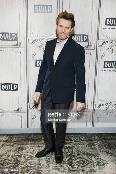 Actor Willem Dafoe discusses The Florida Project at Build Studio on October 2 2017 in New York City