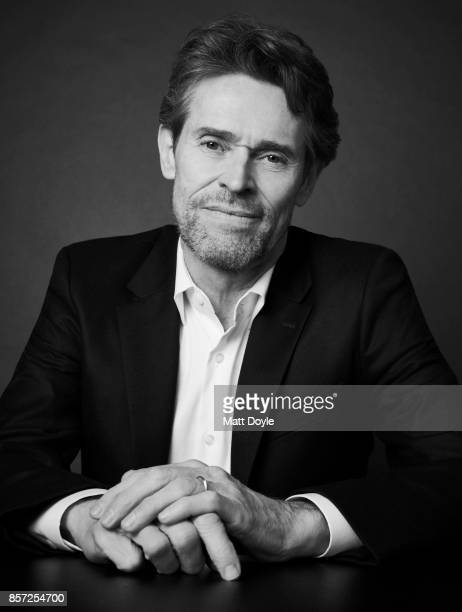 Actor Willem Dafoe from the film 'The Florida Project' poses for a portrait at the 55th New York Film Festival on October 1 2017