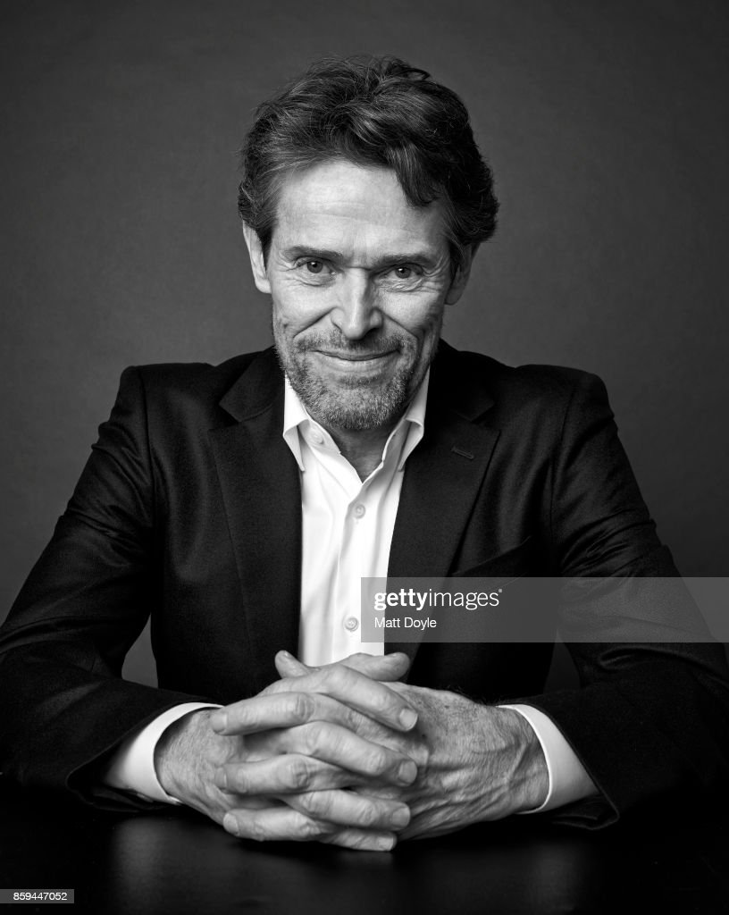 Actor Willem Dafoe from the film 'The Florida Project' poses for a portrait at the 55th New York Film Festival on October 1, 2017.
