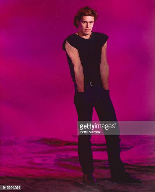 Actor Willem Dafoe is photographed circa 1987 in New York City