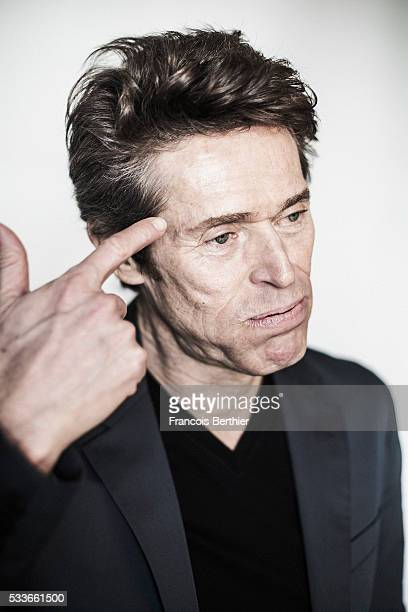 Actor Willem Dafoe is photographed for Self Assignment on May 21 2016 in Cannes France