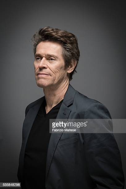 Actor Willem Dafoe is photographed for The Hollywood Reporter on May 14 2016 in Cannes France