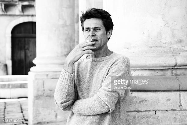 Actor Willem Dafoe is photographed for UnTitled Project magazine on August 21 2013 in Palermo Italy