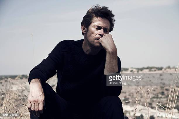 Actor Willem Dafoe is photographed for UnTitled Project magazine on August 21, 2013 in Palermo, Italy.