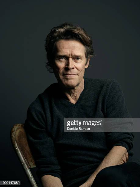 Actor Willem Dafoe is photographed on April 2017 in Bern Switzerland