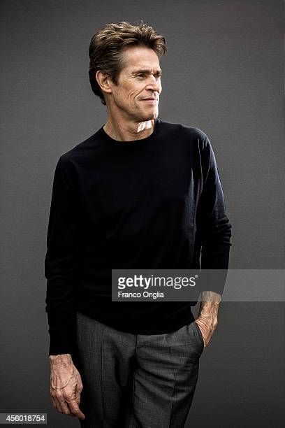 Actor Willem Dafoe is photographed on September 5 2014 in Venice Italy