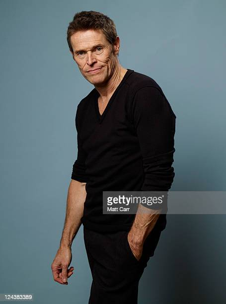 Actor Willem Dafoe of 'The Hunter' poses for a portrait during 2011 Toronto Film Festival on September 9 2011 in Toronto Canada