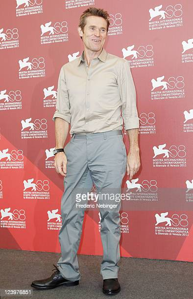 """Actor Willem Dafoe poses at the """"4:44 Last Day On Earth"""" photocall during the 68th Venice Film Festival at Palazzo del Cinema on September 7, 2011 in..."""