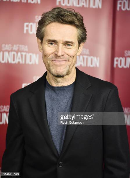Actor Willem Dafoe poses for portrait at SAGAFTRA Foundation Conversations with Willem Dafoe at SAGAFTRA Foundation Screening Room on September 26...