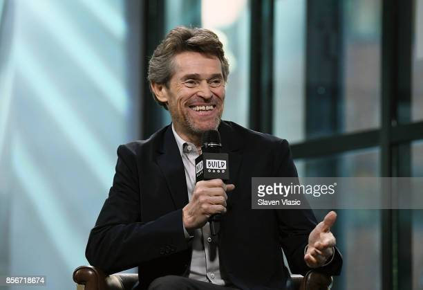 Actor Willem Dafoe visits Build to discuss his drama movie The Florida Project at Build Studio on October 2 2017 in New York City